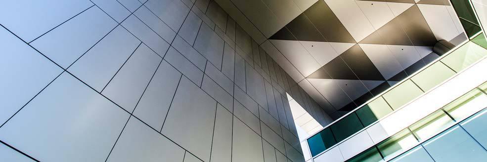 Alpolic Metal Panels : Alpolic alumawall leading edge panel systems